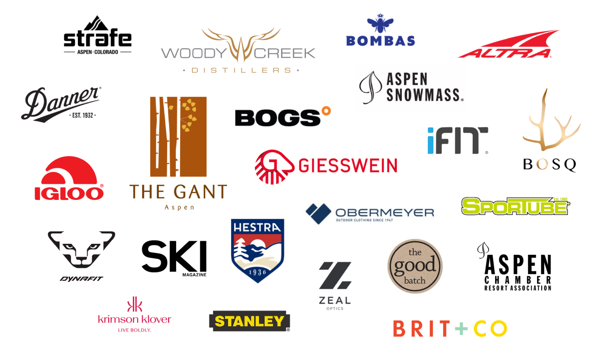 List of brands at Aspen Experience