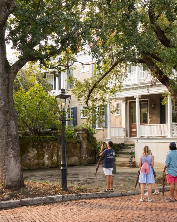Houses in Charleston at CBC Charleston Experience