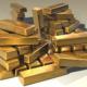 Bricks of gold