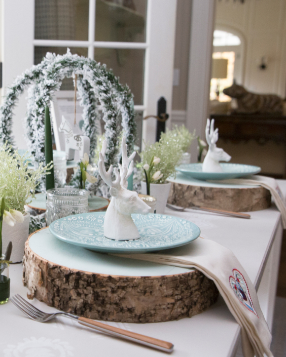 Hosting House table decor display