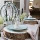 Hosting House table decor display