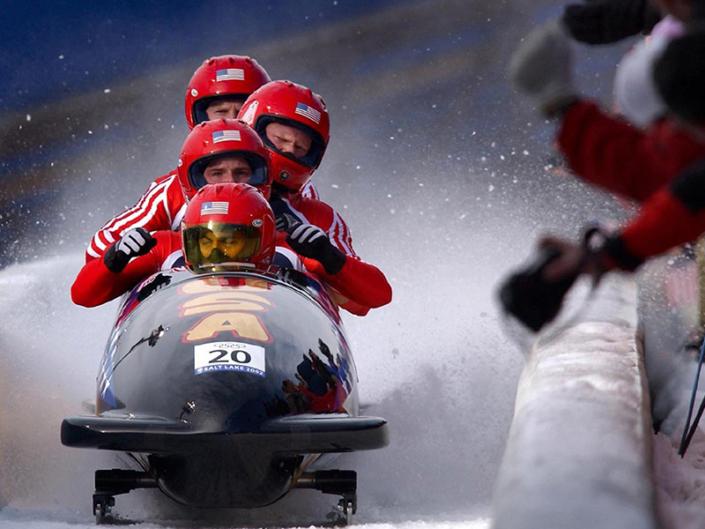 Olympic bobsledders