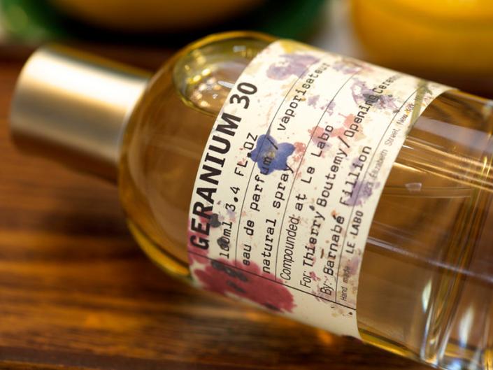 Bottle of pefume