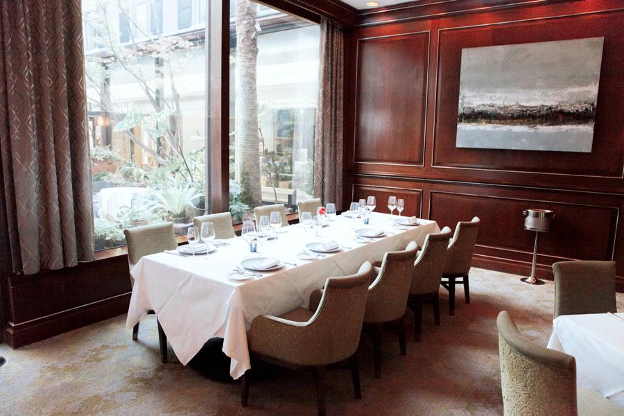Gourmet dinner platting for Charleston Experience