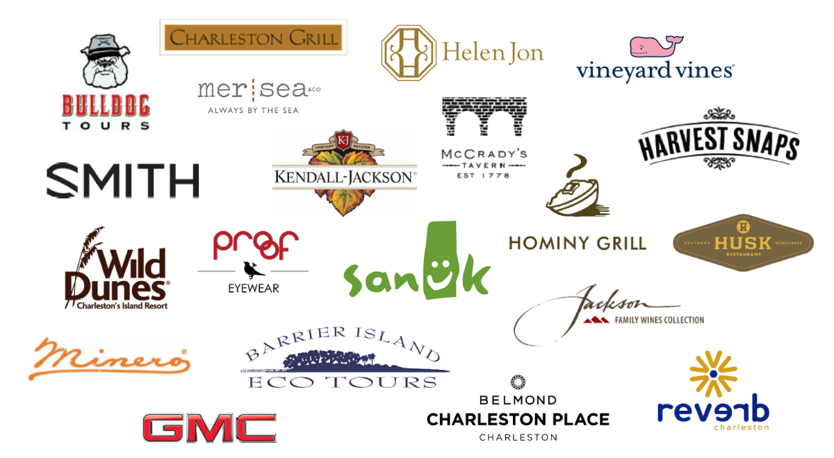 List of brands for Charleston Experience