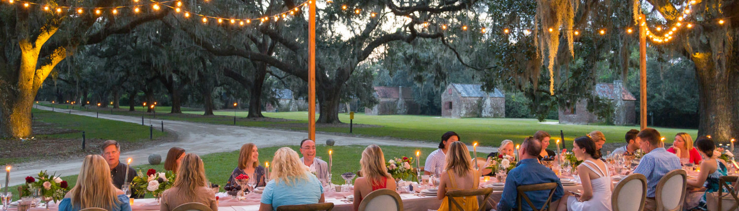 Media and influencers at Charleston Experience