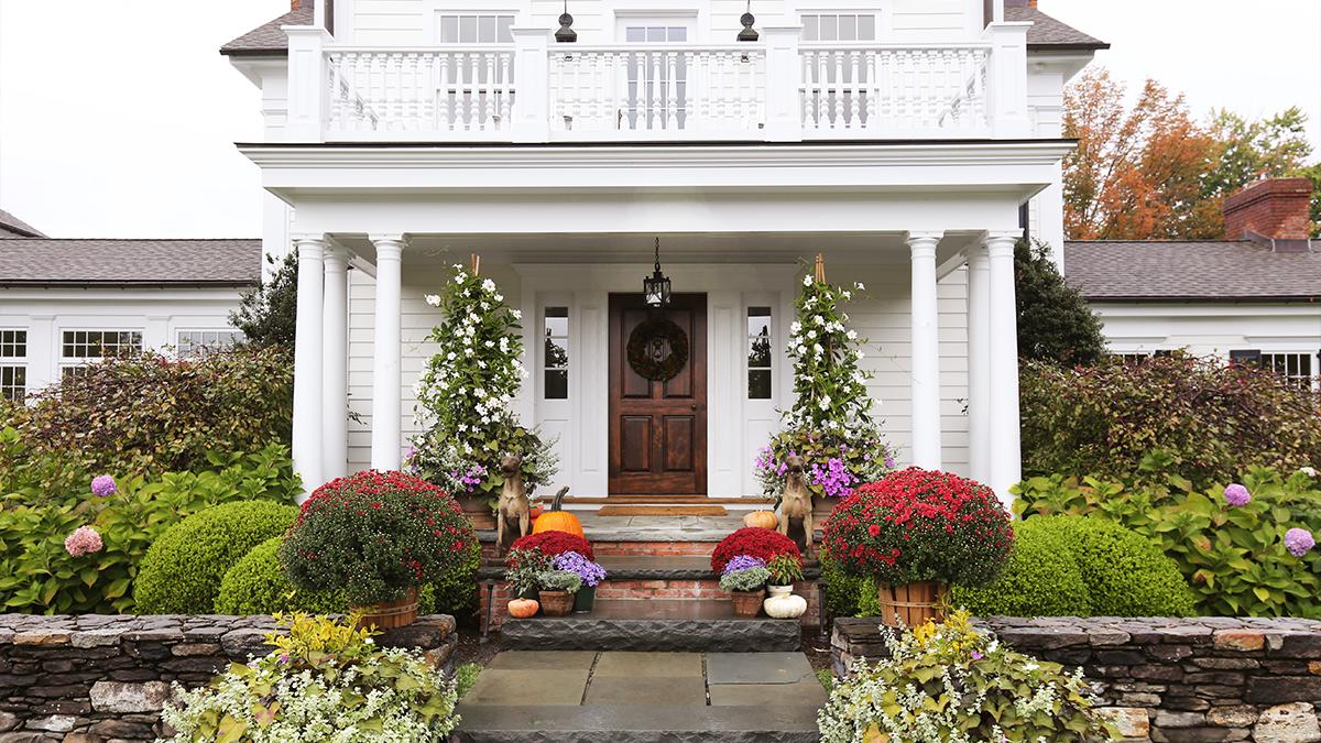 Exterior of Garnet Hill Hudson House