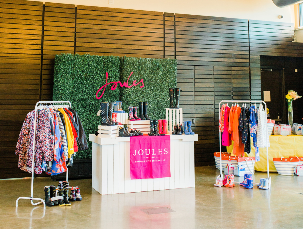 Joules pop up in Houston