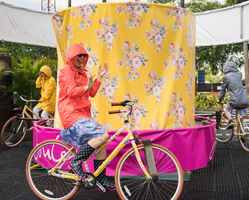experiential PR example Joules