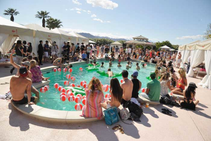 Lacoste's Luxury Experiential Event at Coachella