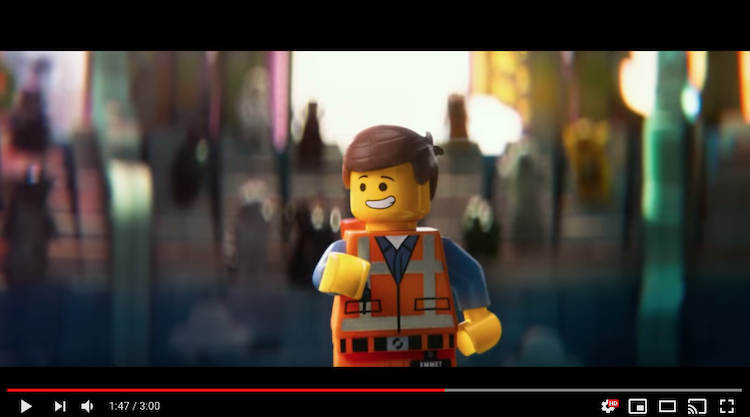 The LEGO Movie is an example of branded entertainment