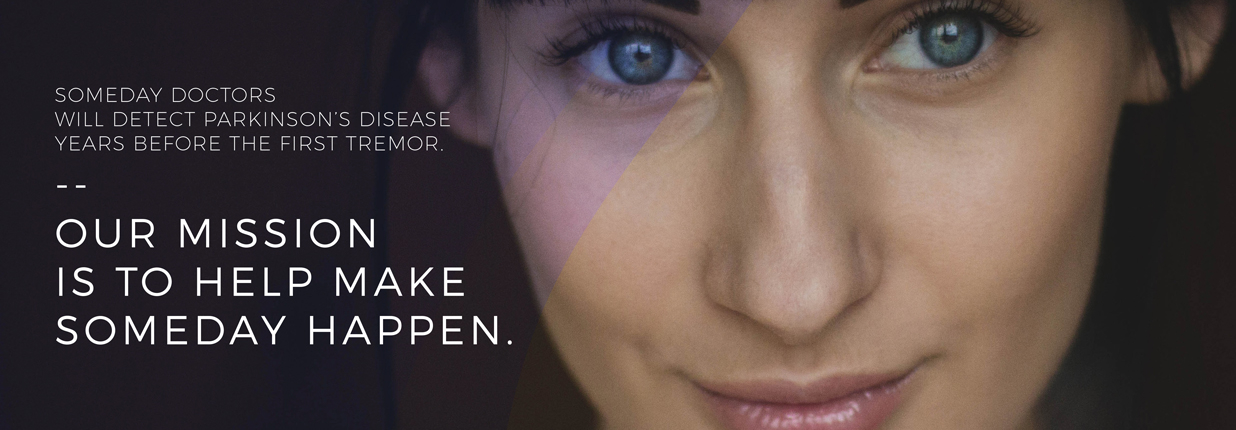 Likemind advertisement of a close-up of a woman's face