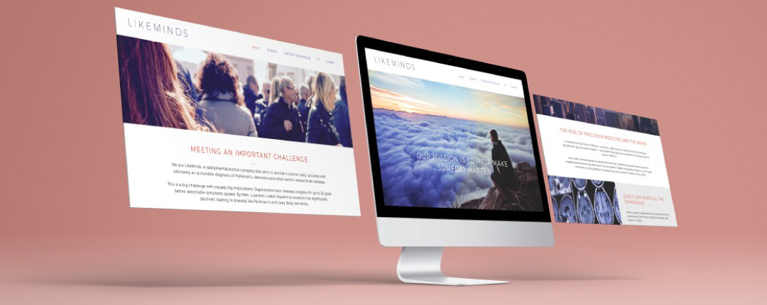 Redesign of the Likeminds website
