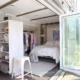 Garnet Hill mobile boutique interior showroom