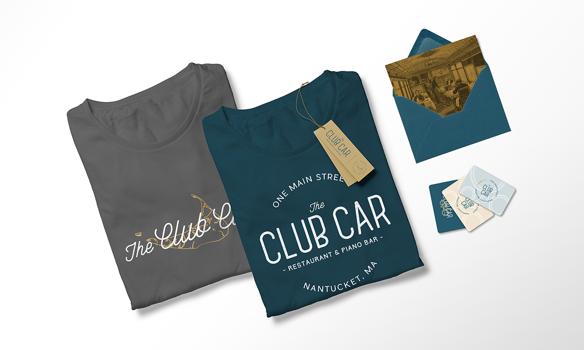 Club Car t-shirts and cards