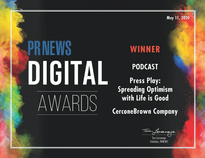 PRNews Digital Award for Best Podcast