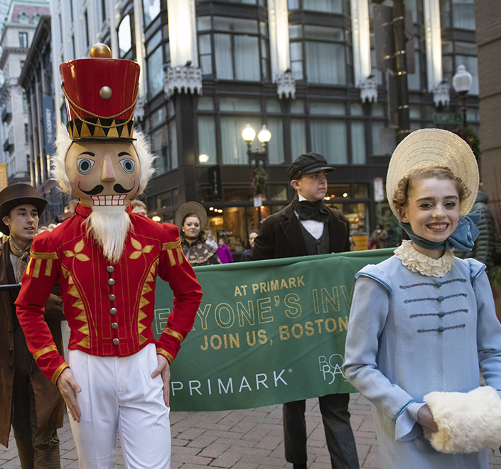 Primark Boston Ballet Nutcracker parade