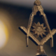 Square and Compasses symbol from Scottish Rite