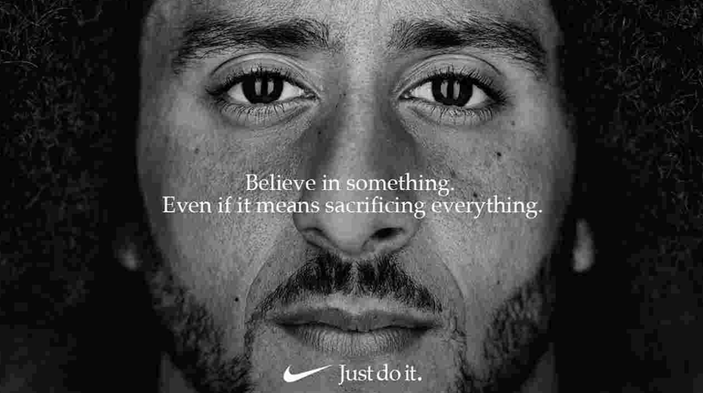 Colin Kaepernick in Nike's controversial new ad campaign
