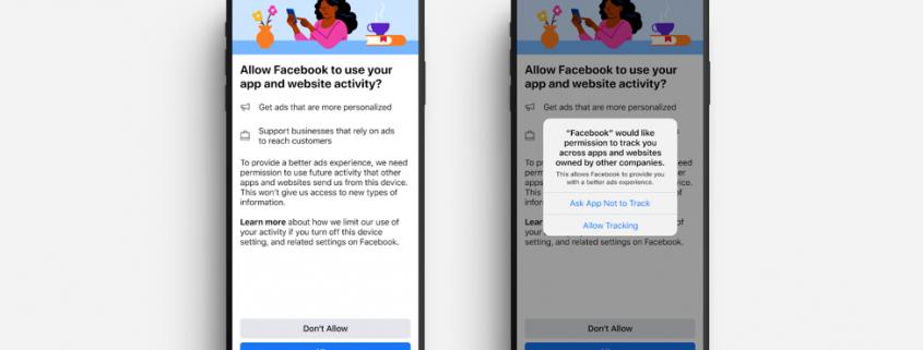 screenshot depicting new Facebook advertising settings for marketers