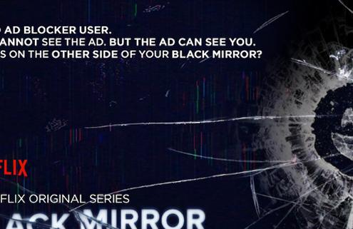 Black Mirror Advertisement