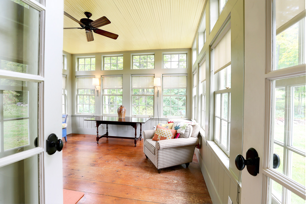 Interior of Garnet Hill Hudson House
