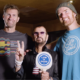Life is Good co-founders and podcast hosts with Ringo Starr