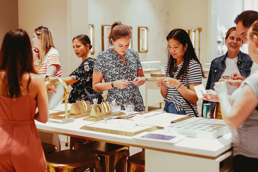 Influencers making custom jewelry